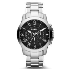 Beli Fossil Jam Tangan Pria Fossil Fs4736 Grant Chronograph Stainless Steel Watch Fossil