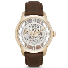 Jual Fossil Jam Tangan Pria Fossil Me3043 Townsman Automatic Brown Leather Watch Fossil Ori