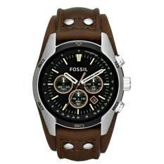 Fossil Jam Tangan Pria - Leather Strap - Blue - CH 2891 Brown