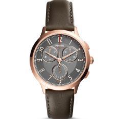 Jual Fossil Jam Tangan Wanita Fossil Ch3099 Abilene Sport Chronograph Gray Leather Watch Murah