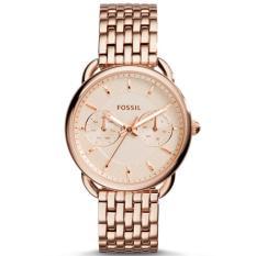 Beli Fossil Jam Tangan Wanita Fossil Es3713 Tailor Multifunction Rose Tone Stainless Steel Watch Yang Bagus