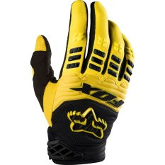 Fox Dirtpaw Sarung Tangan Sepeda Motor Touring Tour Bikers Bike Gloves Sports Outdoor Full Kuning