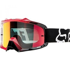 Fox Racing AIRSPC 360 Race Adult Dirt Bike Motorcycle Goggles Eyewear - White-Red/Red Spark / One Size Fits All - intl
