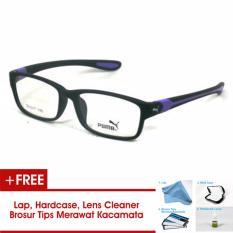 Frame Kacamata Pria Sporty Puma P833 Biru Bisa Dipasang Lensa Minus Di Optik Terdekat