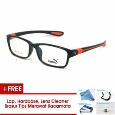 Frame Kacamata Pria Sporty Puma P833 Orange Bisa Dipasang Lensa Minus Di Optik Terdekat