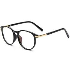 Frame Kacamata Vintage Lensa Bening