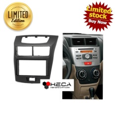 Frame OEM-Fit Double din Tape Audio Head Unit TV Mobil ALL NEW AVANZA VELOZ 2012 Up & XENIA 2012 Up