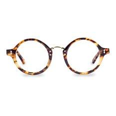 Franc Nobel Kacamata Unisex - Lennon Amber Light Tortoise dengan Lensa Anti Radiasi Asli