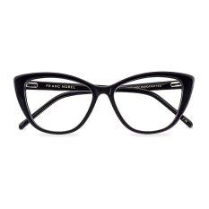 Franc Nobel Kacamata Wanita- Altina Obsidian Black dengan Lensa Anti Radiasi Asli