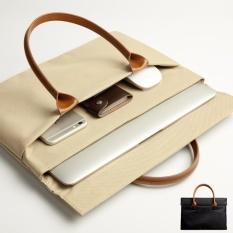 Toko Free Charging Cable Pelindung Laptop Case Tote Bag Untuk Apple Macbook Air 11 Inch Komputer Bag Beige Termurah Tiongkok