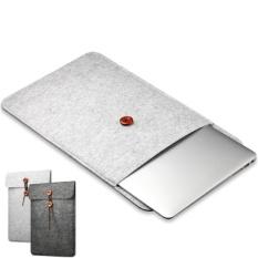 Gratis Mousepad + Komputer Laptop Sarung Casing Tas untuk Apple MacBook Air 13.3 Tas Bawaan (Abu-abu)-Intl
