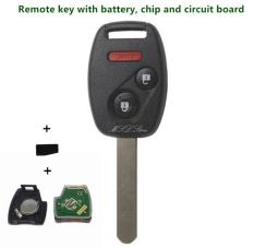Diskon Besarfreebang 2003 2007 Remote Kunci Dengan Bilah Id46 433 Mhz Untuk Honda Accord Cocok Civic Odyssey 3 2 X 1 Tombol Entri Tanpa Kunci Alarm Mobil Memperdaya Kasus Intl