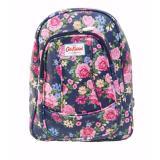 Beli Freeshop Ransel Tas Flower Kanvas Pencetakan Tas Sekolah Berlibur Bahu Bag Navy S303 Pakai Kartu Kredit
