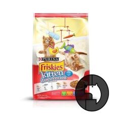 Harga Friskies 1 1 Kg Kitten Discoveries Friskies Original