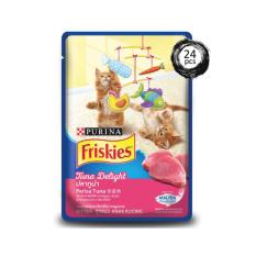 Friskies Kitten Wet Tuna Delight Pouch 80 G X 24Pcs Murah