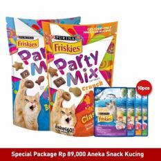 Harga Termurah Friskies Special Package Cat Snack 12 Pcs