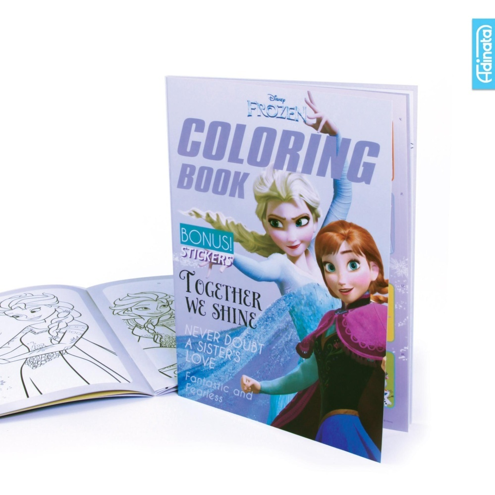 Frozen Coloring Book L Adinata / Buku Mewarnai