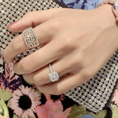 Harga Fu Mei Shishang Putih Ol Style Cincin Seken