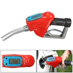 Bahan Bakar Bensin Bensin Minyak Pengiriman 1 ''Nozzle Dispenser dengan Digital Flow Meter-Internasional