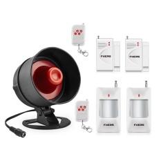 Fuers Alarm Siren Pembicara Nyaring Alarm Sistem Perlengkapan Nirkabel Rumah Alarm Siren Keamanan Perlindungan Sistem untuk Rumah Garasi- internasional