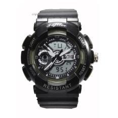 Fujitec - Jam Tangan Pria - Black - Resin Strap - FWT1013-B