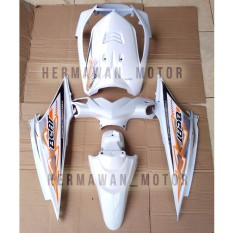 Beli Full Body Honda Beat Karbu Warna Putih Dan Stiker Abs Online