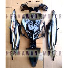 Beli Full Body Yamaha Mio Sproty Warna Hitam Dan Stripping Pakai Kartu Kredit