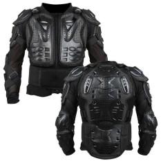 Full Motorcycle Body Armor Shirt Jacket Motocross Back Shoulder Protector Gear - intl