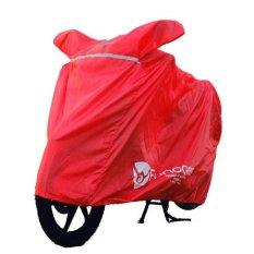 Harga Funcover Motor Polyster Merah Online Jawa Timur