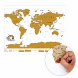 Berapa Harga Funn Art Peta Gulung Xx Fn Fa16T0017 Scratch Map Travel Gosok Gores Putih Di Dki Jakarta