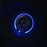 Fuxi Car Light Led Ignition Switch Cover Ring Gantungan Kunci Dekorasi Stiker Cahaya Biru Intl Promo Beli 1 Gratis 1