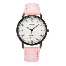 Diskon Gaisety Brand Uniex Port Top Digitaeather Quartz Watch Pink Branded