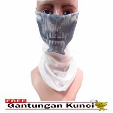 Toko Galaksi Buff Masker Multifungsi Seamless Wear 05 Free Gantungan Kunci Putih Indonesia