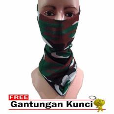 Cuci Gudang Galaksi Buff Masker Multifungsi Seamless Wear 21 Free Gantungan Kunci Army