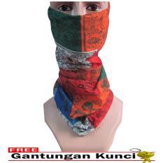 Jual Galaksi Buff Masker Multifungsi Seamless Wear 24 Free Gantungan Kunci Multicolor Murah Indonesia