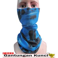 Beli Galaksi Buff Masker Multifungsi Seamless Wear 27 Free Gantungan Kunci Biru Nyicil