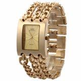 Harga G D Jam Tangan Wanita Fashion Casual Bracelet Quartz Stainless Steel Women Lady Watch Gold G D Original