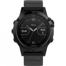 Garmin Fenix 5 Sapphire - Smartwatch Jam Tangan Olahraga Hitam