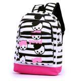 Cara Beli Garsel Tas Ransel Backpack Sekolah Trendy Gyn5761 Hitam Putih