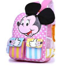 Garsel Tas Ransel Sekolah Anak Perempuan Lucu GWI5867 - Pink
