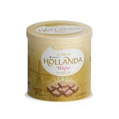 GarudaFood Holanda Wafer Cream Rs Coklat - 360g - Isi 6 Toples