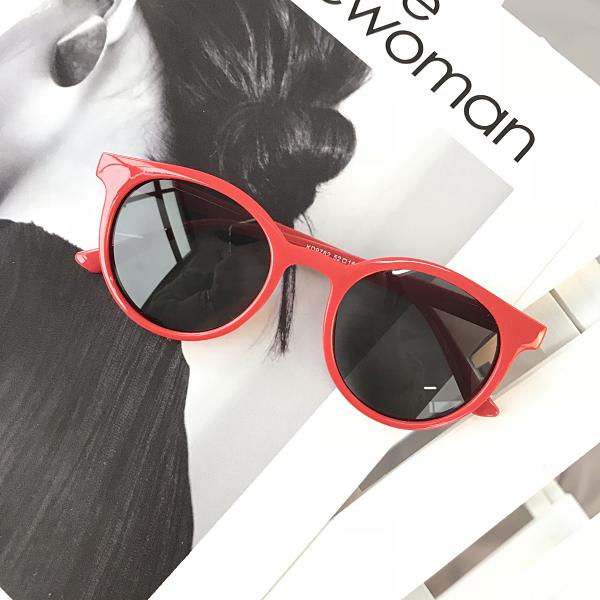 Gaya Jepang Pria Dan Wanita Bulat Terlihat Langsing Kaca Mata Kacamata Hitam 60e1baeddb