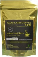 Jual Gayo Land Coffee Kopi Longberry Roasted Bean 250Gr Indonesia