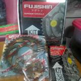 Diskon Gear Set Gold Rantai Motor Baja Supra X 125 Karisma 428 Fujishin Indonesia