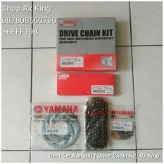 Harga Gear Set Komplit Drive Chain Kit Rx King Original Yamaha New Lengkap
