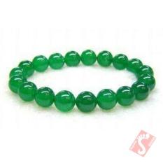 Gelang Batu Green Aventurin original Stone Bracelet 8 mm