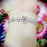 Dimana Beli Gelang Bunga Gold Silver Cantik Xuping Xuping Jewelry