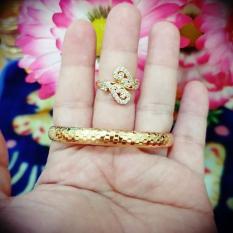 Cuci Gudang Gelang Cincin Cantik Xuping Gold