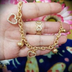 gelang cincin love cantik xuping