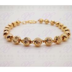 Gelang Dewasa Perhiasan Imitasi Gold 18K